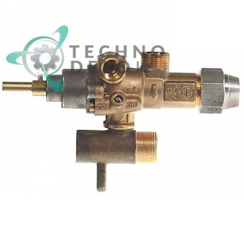 Кран газовый (аналог EGA) альтернатива EGA 196.101612 service parts uni