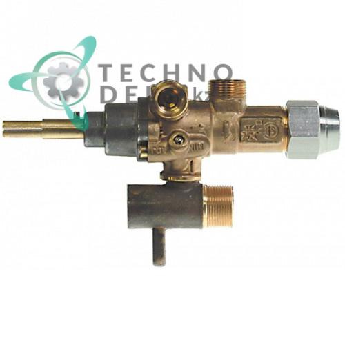 Кран газовый (аналог EGA) альтернатива EGA 196.101615 service parts uni