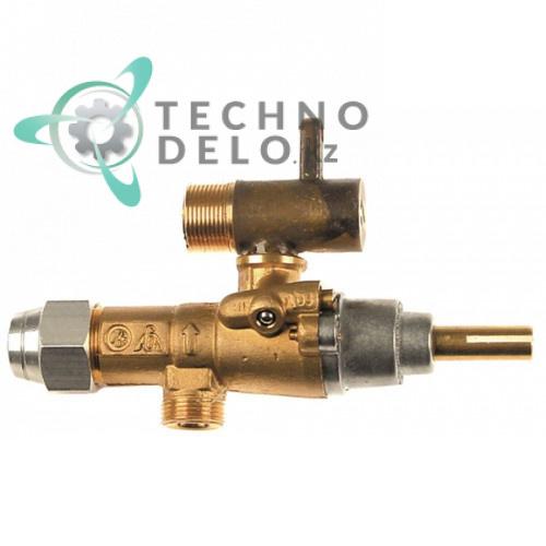Кран газовый (аналог EGA) альтернатива EGA 196.101617 service parts uni