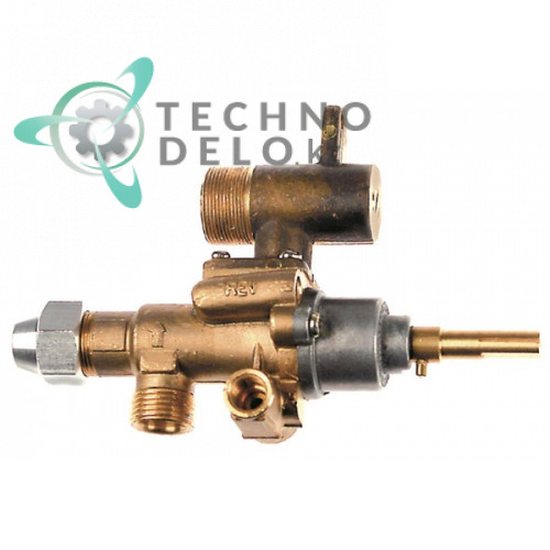 Газовый кран (аналог) альтернатива EGA 034.101623 universal service parts
