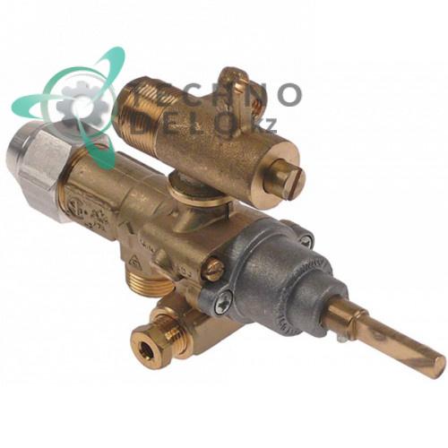 Кран газовый (аналог EGA) альтернатива EGA 196.101633 service parts uni