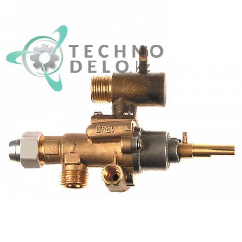 Кран газовый (аналог EGA) альтернатива EGA 196.101636 service parts uni