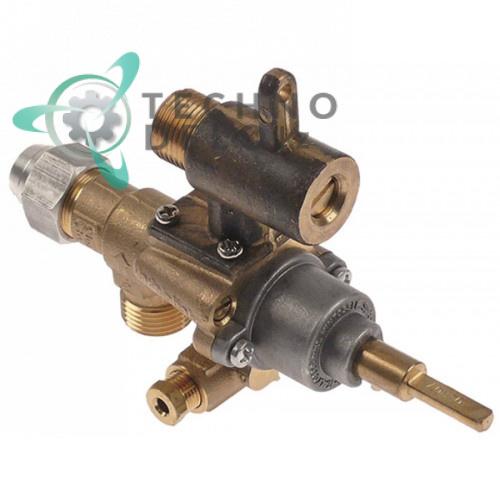 Кран газовый (аналог EGA) альтернатива EGA 196.101657 service parts uni