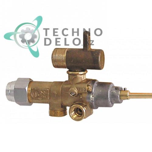 Кран газовый (аналог EGA) альтернатива EGA 196.101658 service parts uni