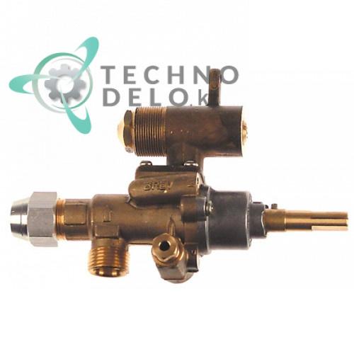 Кран газовый (аналог EGA) альтернатива EGA 196.101662 service parts uni
