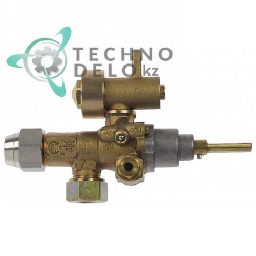 Кран газовый (аналог EGA) альтернатива EGA 196.101663 service parts uni