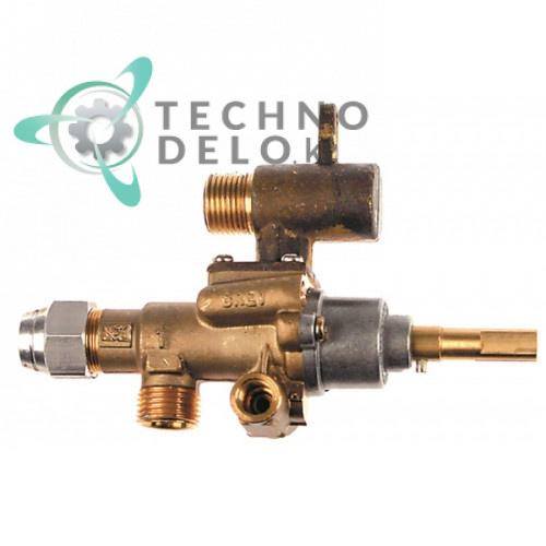 Кран газовый (аналог EGA) альтернатива EGA 196.101666 service parts uni