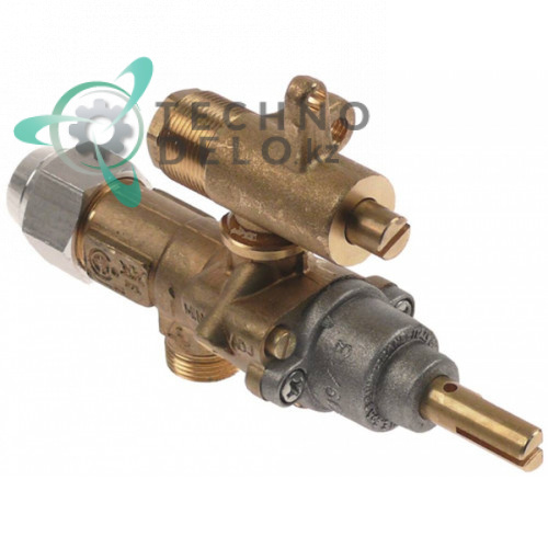 Кран газовый (аналог EGA) альтернатива EGA 196.101667 service parts uni