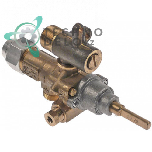 Газовый кран (аналог) альтернатива EGA 034.101737 universal service parts