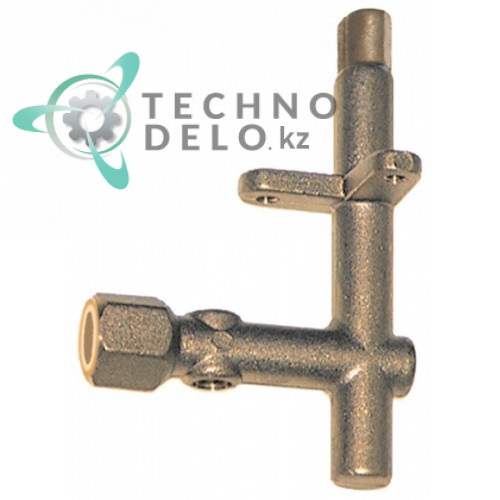 Горелка конфорочная однопламенная без дюзы 34A0010 для профессионального теплового оборудования Angelo Po и др.