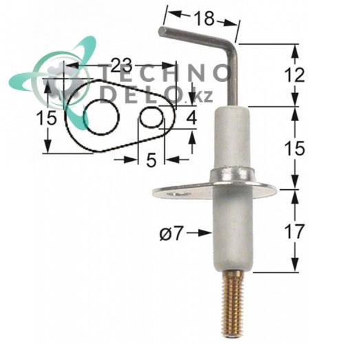 Зажигательный электрод 034.101782 universal service parts