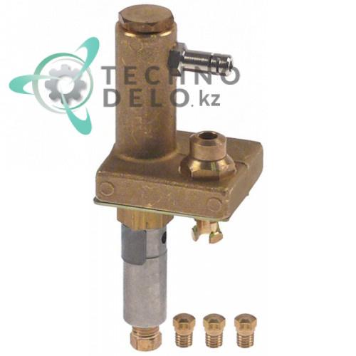 Горелка конфорочная в комплекте с дюзами 0G3101 для теплового оборудования Electrolux, Therma, Palux и др.