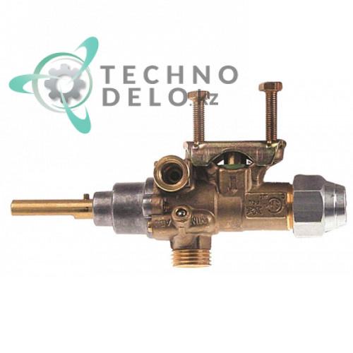 Газовый кран PEL type 21/S 0C0205 для газового оборудования Zanussi/Electrolux и др.