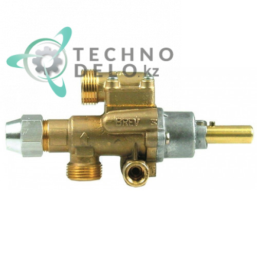 Кран газовый PEL 22S/O (M20x1,5 ось 10x8мм) 3018916600 для Ambach, Krefft и др.