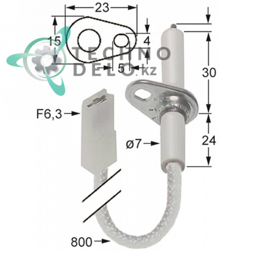 Зажигательный электрод 034.102316 universal service parts