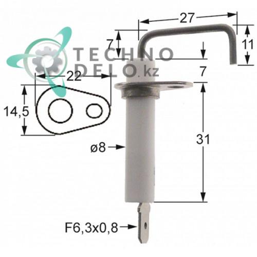 Зажигательный электрод 034.103252 universal service parts