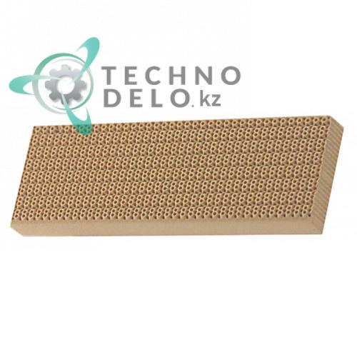 Плита керамическая 144x47x13мм 030102 газовой горелки гриля Tecno MCM