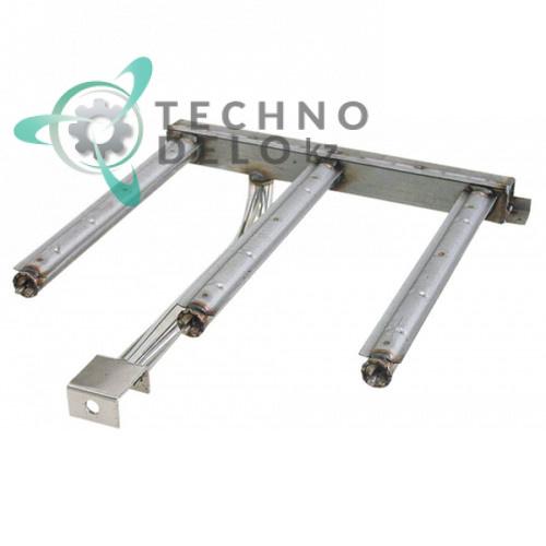 Горелка стержневая 3-х рядная 390x420x135мм 67207400 сковороды опрокидывающейся Modular 70/70BRG и др.