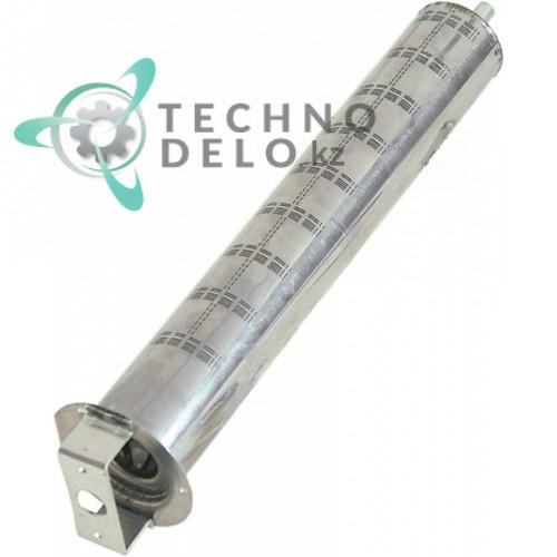 Горелка стержневая ø50мм L-320мм фланец 72мм/ø75мм для макароноварки Electrolux SCPG350, Tecnoinox