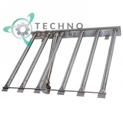 Горелка стержневая 6-ти рядная 520x620x60мм CM070003 сковороды опрокидывающейся Mareno BR7-8EF и др.