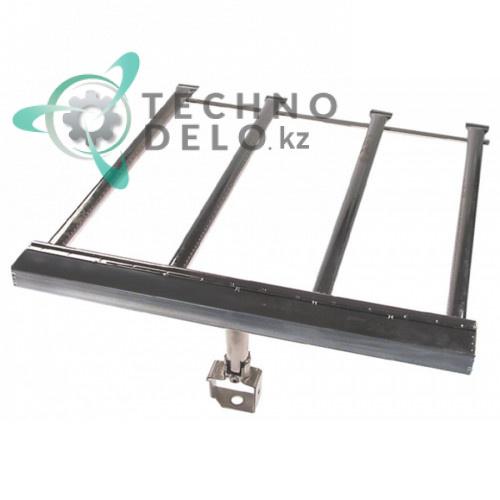 Горелка стержневая 4-х рядная 580x545x30мм 0C0700 сковороды опрокидываемой Electrolux KBR/G2C и др.