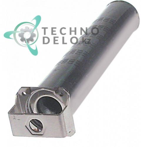 Горелка стержневая ø50мм L-267мм фланец 57мм 003677 для печи Electrolux ACF/G6-0, ECF/G6/0 и др.