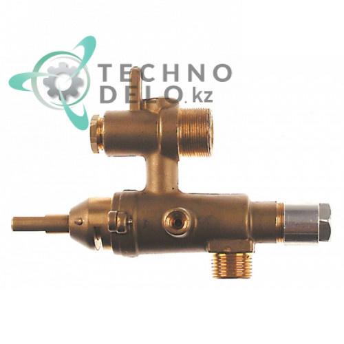 Кран газовый EGA серия 24197 для профессионального кухонного теплового оборудования MALAG