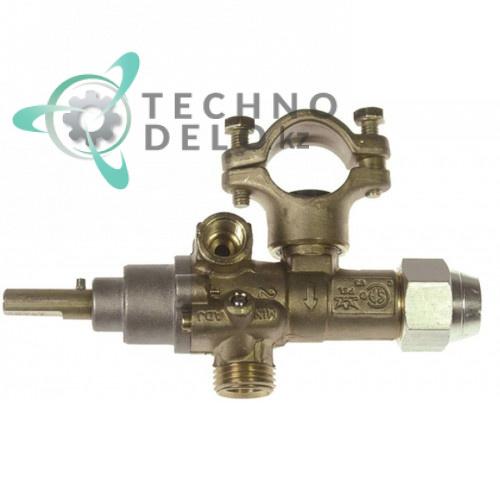 Кран газовый PEL 21S (M16x1,5 ось 8x6,5мм) 401121 для Offcar и др.