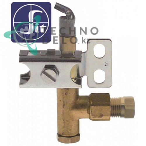 Горелка газовая универсальная SIT для плит Angelo Po, Electrolux, Bertos и др. (0H6314, 027073)