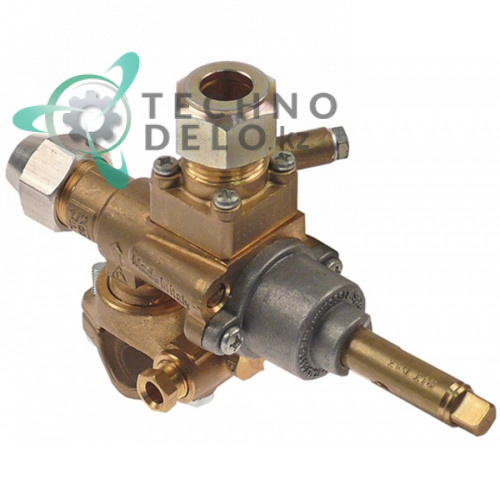 Газовый кран PEL 196.107322 service parts uni