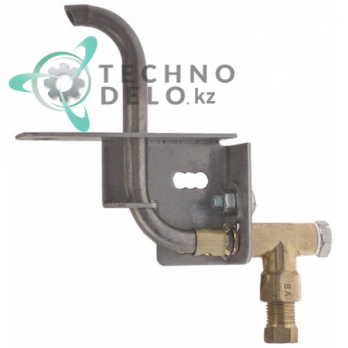 Горелка конфорочная 1 пламенная природный газ дюза ø0,35мм для профессионального оборудования (плиты) Olis