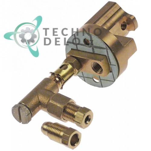 Горелка конфорочная код 20 C5815249M сжиженный газ LPG (пропан-бутан) для плиты Cooking Systems, Eurast, Macfrin и др.