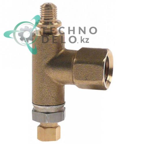 Переходник-уголок A.R.C 65.PUG30B ø 0,21мм нижняя часть горелки для профессиональной газовой плиты Bertos G6F6PW-FE1 и др.
