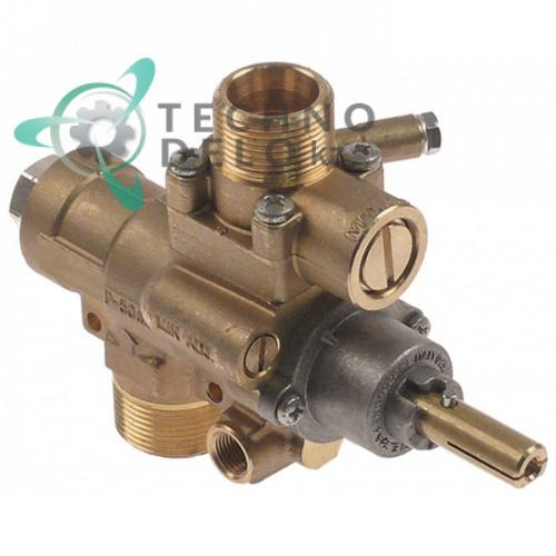 Кран газовый AB A63V M28x1,5 M24x1,5 M9x1 M10x1 для B&S, Tiyan Gas