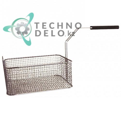 Корзина фритюрницы (размер ёмкости 250-215-105 мм) 300716 для FriFri D6, FT10, FT8, PROFI10 и др.