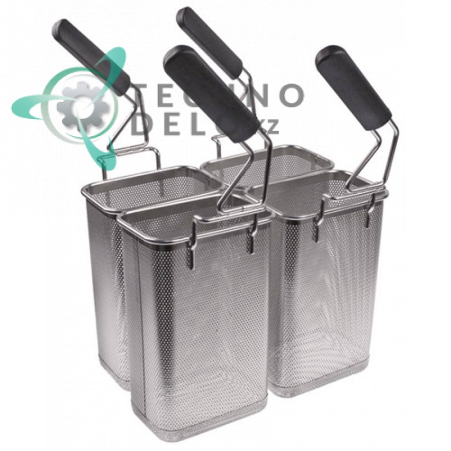 Корзина варки макарон (комплект 4 шт. нержавеющая сталь) 004872 0C9225 для Electrolux, Zanussi и др.