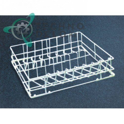 Кассета 450x450x95мм для тарелок ø230мм C76 210053 посудомоечной машины Dihr, Krupps, Sammic и др