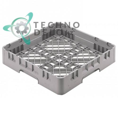 Кассета Cambro 500x500x101 сетка с крупными отверстиями применяется для посудомоечных профессиональных машин