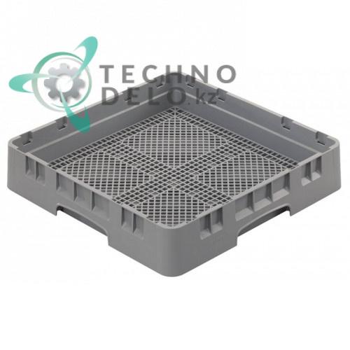 Кассета Cambro 500x500x101 сетка с мелкими отверстиями используется для посудомоечных профессиональных машин