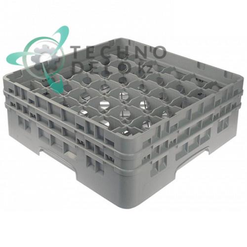Кассета Cambro 500x500x183 размер ячейки 73x73мм 36 стаканов для посудомоечных профессиональных машин
