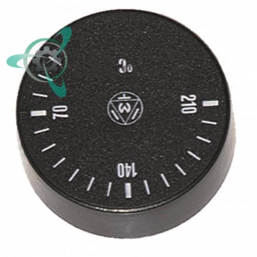 Рукоятка регулировочная IMIT 556313 (40-210°C ø42мм ось ø6x4,6мм) для термостата
