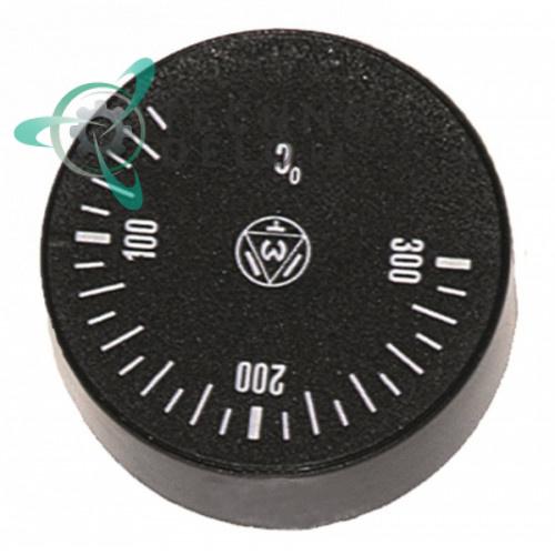 Рукоятка регулировочная IMIT 556326 для термостата (50-300°C ø42мм ось 6x4,6мм)