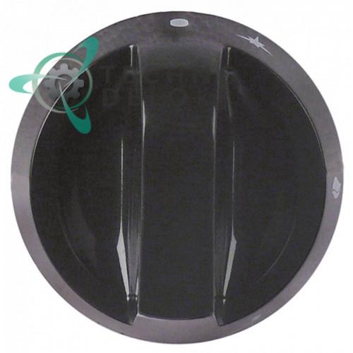 Рукоятка регулировочная D-76мм ось 10x8мм 2008671 газового крана гриля Giorik 22CPG, 23CPG, 2CPG, CG740 и др.