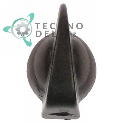 Ручка переключения ø19 мм для пром. стиральной машины Grandimpianti