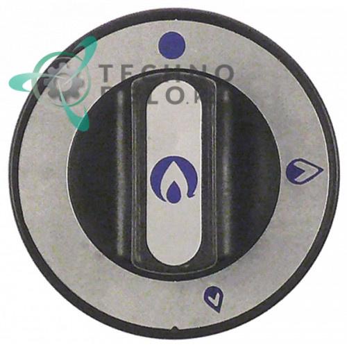 Рукоятка регулировочная ø76мм газового крана без запального факела 017181 30800043 для оборудования Repagas