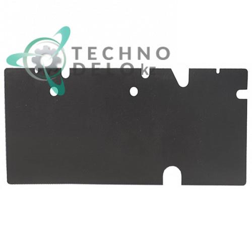 Крышка для посудомоечной машины Winterhalter GS23S, GS24 (арт. 62001381, 62001761 428x185мм)