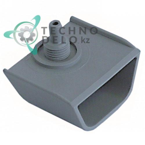 Камера воздушная 048308 0K8750 60x27x47мм посудомоечной машины Ecolab, Electrolux, Walo, Zanussi и др.