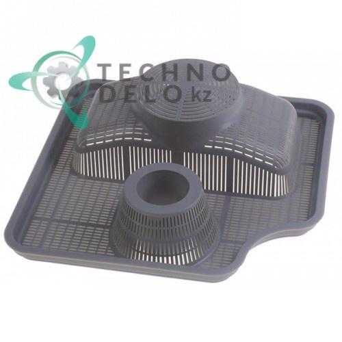 Фильтр 250x265мм 180831 для посудомоечной машины Comenda, Hoonved