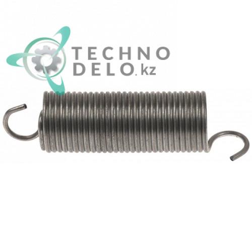 Пружина растяжения ø21мм длина 84/58/13мм проволока ø2мм 449064 посудомоечной машины Colged, Elettrobar, MBM и др.