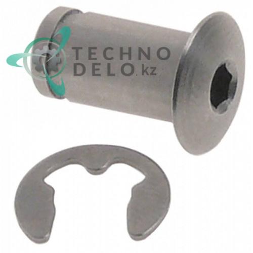 Палец (резьба M5 H-15мм) 70005097 для посудомоечной машины Winterhalter GS302, GS310, GS315 и др.